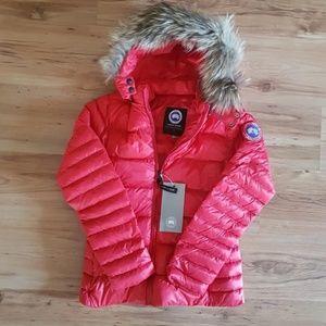 Women Canada Goose Pink Coat Jacket